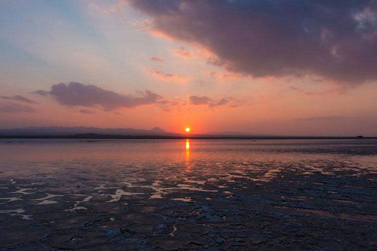 Maranjab Salt Lake