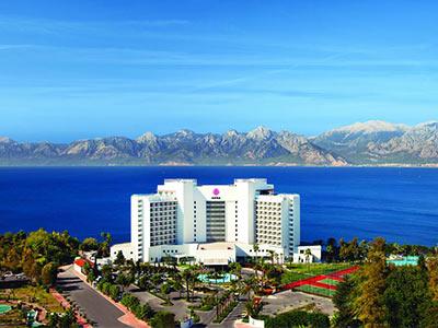 ده هتل برتر آنتالیا ترکیه