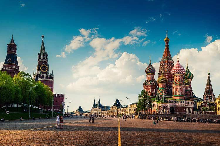 شش جاذبه دیدنی مسکو روسیه