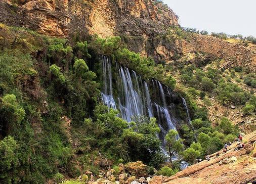 آبشار شوی تا کول خرسان سد دز