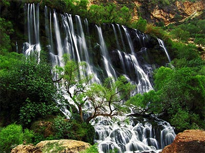 تور آبشار چم چیت و بیشه لرستان.amordadtour.com