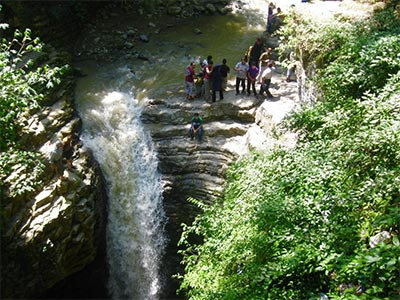 تور آبشار ویسادار تا جنگل گیسوم.amordadtour.com